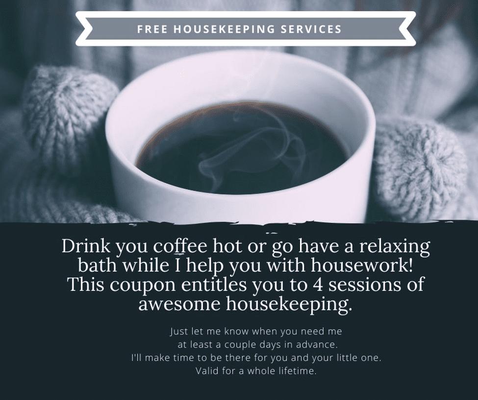 Free Housekeeping Coupon