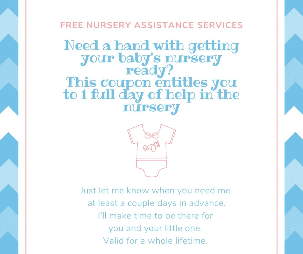 Nursery Service Coupon
